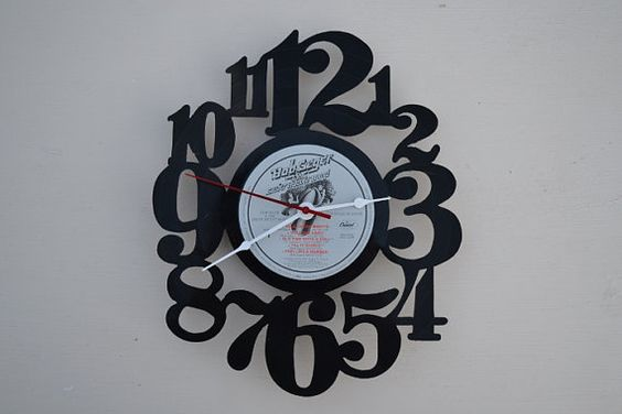 Vinyl Record Album Wall Clock artist is Bob Seger by vinylclockwork, $23.00