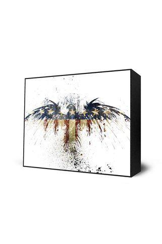 Alex cherry eagles become mini art block by alex cherry for Alex cherry eagles become wall mural