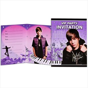 Throw your son or daughter a Bieber themed party.