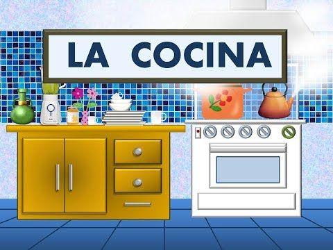 Los Utensilios De Cocina En Espanol Videos Para Ninos Las