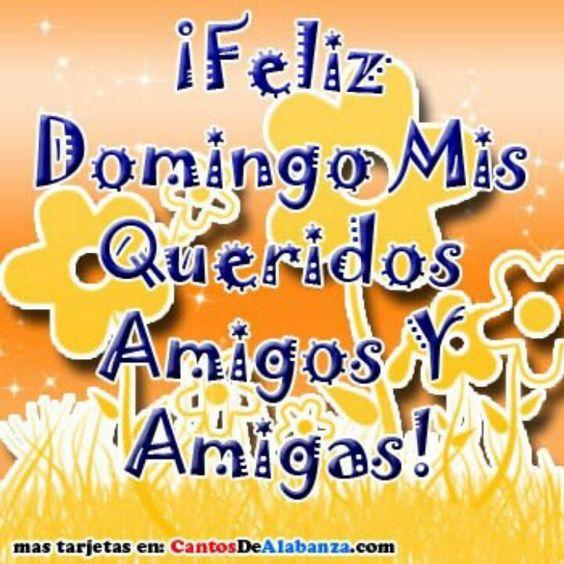 Feliz Domingo Mis Queridos Amigas Y Amigos! Days Of The Week - tolling agreement template
