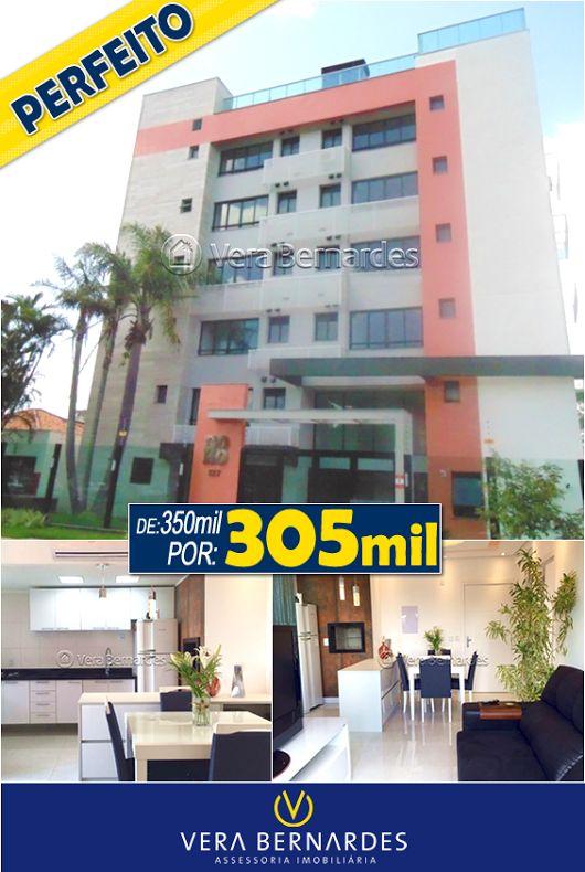 🌟 Baixou - Bairro Cristal 🌟 Lindo apartamento em andar alto, semi-mobiliado, 1D e acabamento de primeira. Pronto para morar!! https://goo.gl/XATN4I Whats: (51) 9998 9666