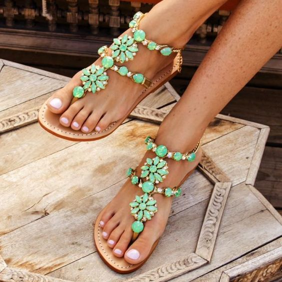 Jewelry-Inspired Sandals by Mystique - Handmade in Bali