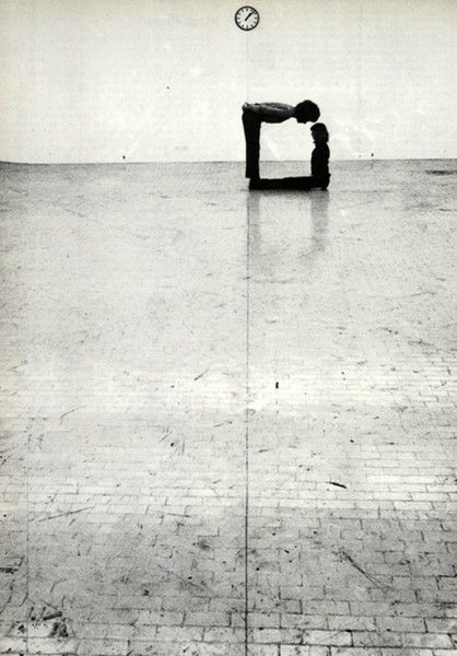 Time-Space-Body and Action, Klaus Rinke | 1972