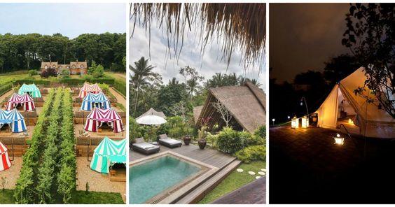 Quer acampar com glamour? Eis 8 sítios que tem de visitar | SAPO Lifestyle
