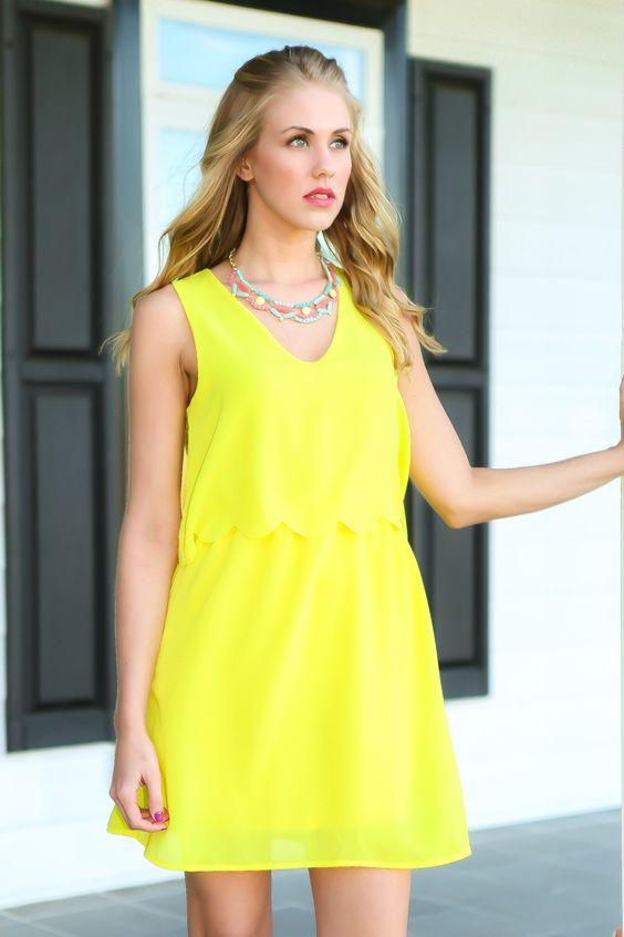 Want To Know A Secret Dress-Lemonade