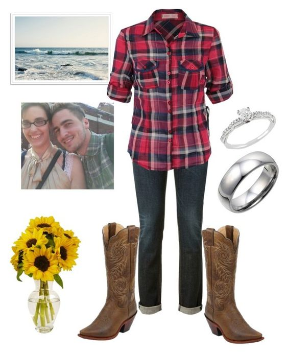 """""""Cowgirl style"""" by ilovekendallschmidt4eva ❤ liked on Polyvore featuring rag & bone, Ice and Black Diamond"""