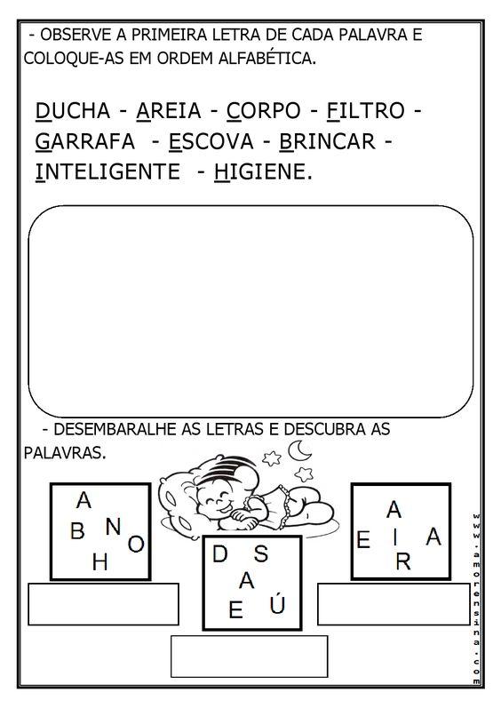 Alfabetizar com AMOR: 07 DE ABRIL - DIA MUNDIAL DA SAÚDE - ATIVIDADES PARA O 1º ANO