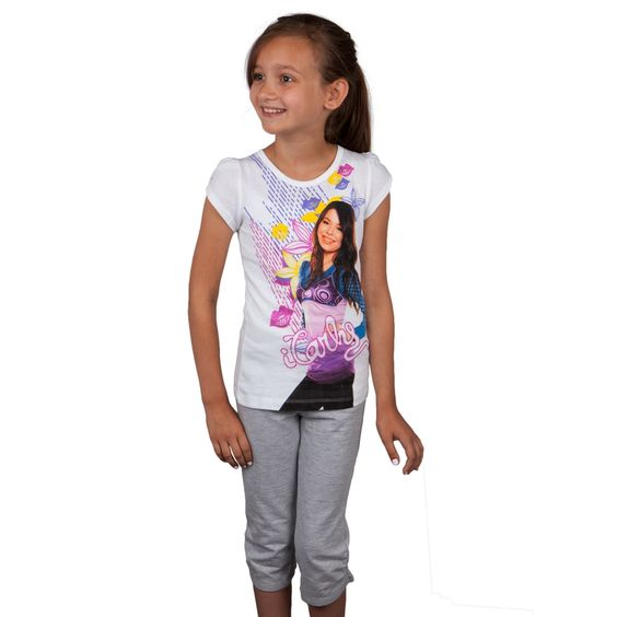"""iCarly - Carly Kisses Girls Juvy Capri Set   OldGlory.com """"You are not large and six, you are not extra large six x?"""""""