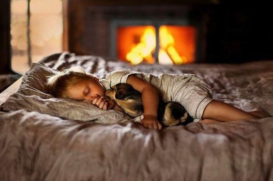 Lindas fotos de crianças e seus animais de estimação (8)