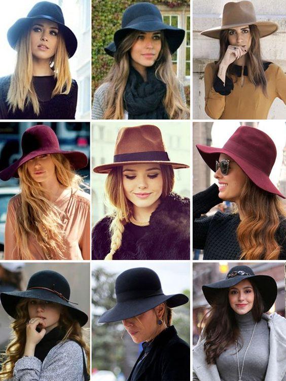 Garotas do Brasil – Via Marte chapéus - inverno 2014