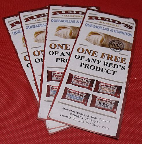 Red's All Natural Free Coupons