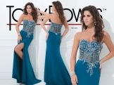 What a lovely Tony Bowls gown for your pageant!
