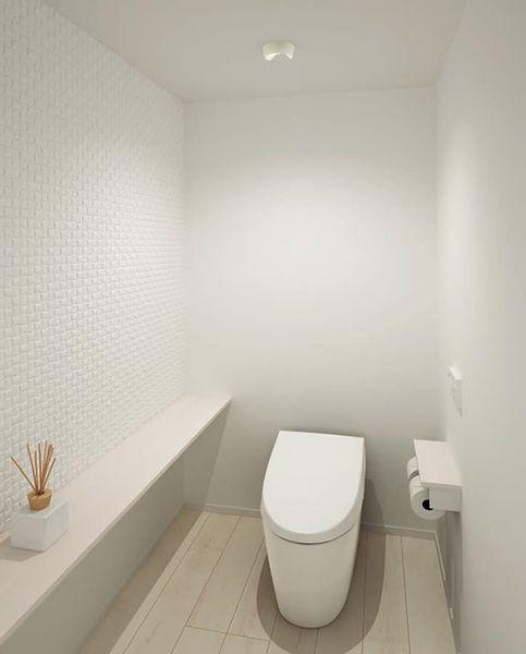 人感センサ付き トイレ向きled小型シーリングライト 60w相当の明るさ