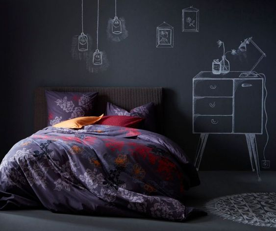 id es pour faire soi m me sa t te de lit diy mur chambre. Black Bedroom Furniture Sets. Home Design Ideas