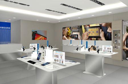 Samsung abre primeira loja com novo conceito no Shopping Patio Higienopolis em SP via Mundo do Marketing