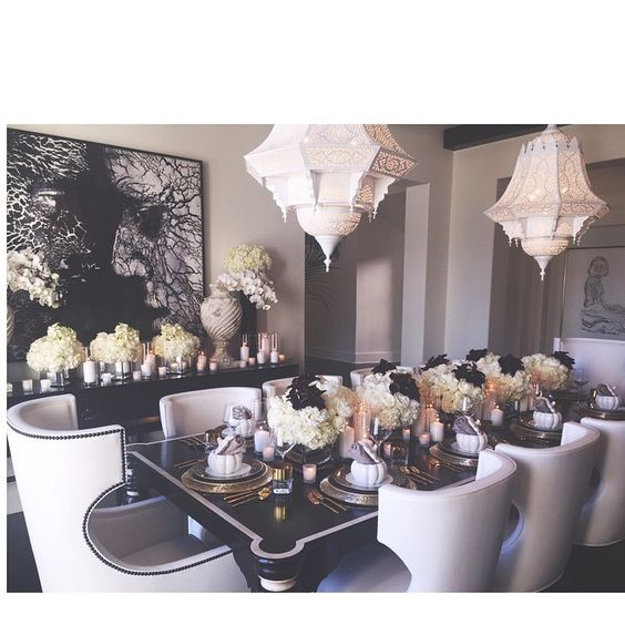 Thanksgiving soir es de thanksgiving and maison on pinterest for Decoration maison kardashian