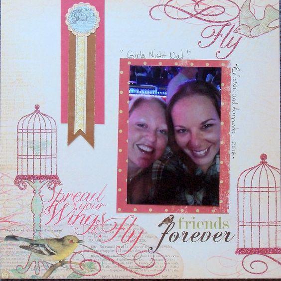Friends Forever - Scrapbook.com