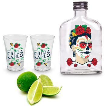 Kit Tequila Frida Kahlo Shot (3 pçs)