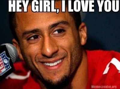 colin kaepernick so hot pinterest sexy my heart and hey girl. Black Bedroom Furniture Sets. Home Design Ideas