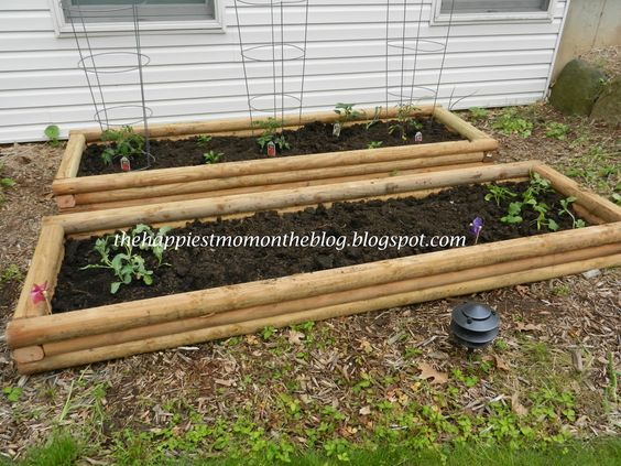 DIY - Raised Garden boxes. These planters are easy to make ... - photo#10