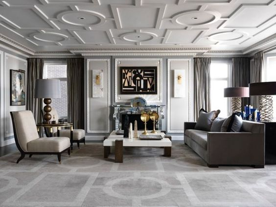 Amazing Interior Design Project by Jean-Louis Deniot. #frenchinteriordesign #architecturedinterieur