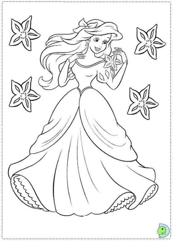 Pin By Coloring Is Magical On Disney Princess Toys Coloring Pages And Videos Mermaid Coloring Pages Disney Princess Coloring Pages Disney Coloring Pages
