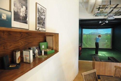 Indoor golfen - die beste Alternative bei schlechtem Wetter! Foto: Frank Nürnberger, www.franknuernberger.de