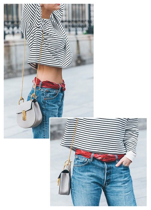 styling bandana cinto:
