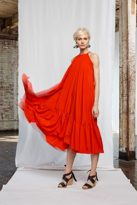 Whit Spring 2016 Ready-to-Wear Collection Photos - Vogue  that blood-orange color is everywhere for SS 16 and it's GORGEOUS
