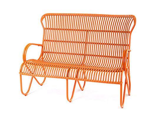 I love me a Brooke Low Bench in orange!