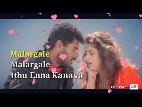 Malargale Malargale Whatsapp Status Lyrics Youtube