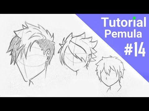 Cara Menggambar Rambut Anime Laki Laki Untuk Pemula Youtube Cara Menggambar Rambut Gambar Rambut Anime Cara Menggambar