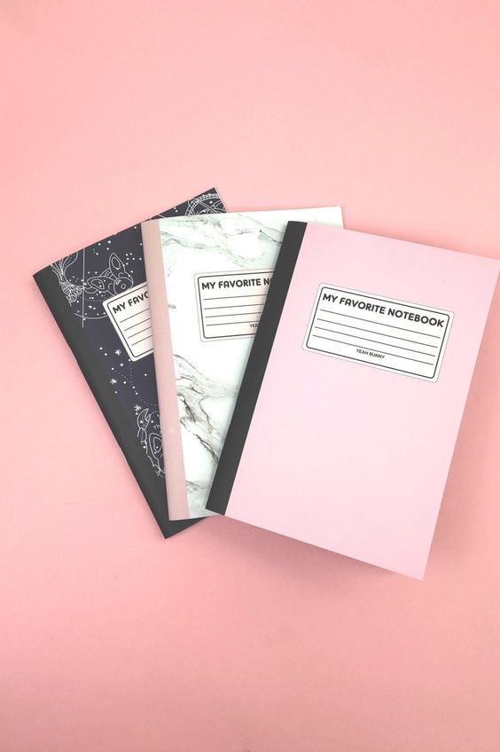 Notebook Set | NYLON SHOP:
