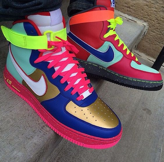 Nike High Air Force Ones