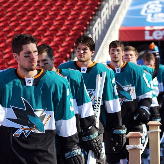 """Headed to the ice for practice. #StadiumSeries"""