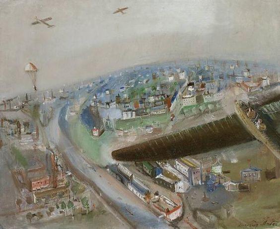 "Alexander Labas, ""In Flight"" 1935"