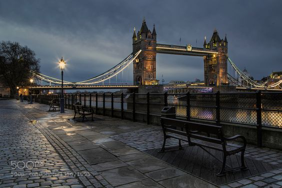 Early Morning at Tower Bridge by BillGoodwin1. @go4fotos