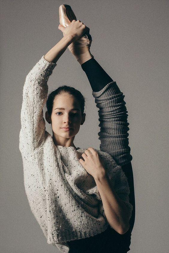 Eleonora Sevenard of Vaganova Ballet Academy / Photo by Katerina Kravstsova