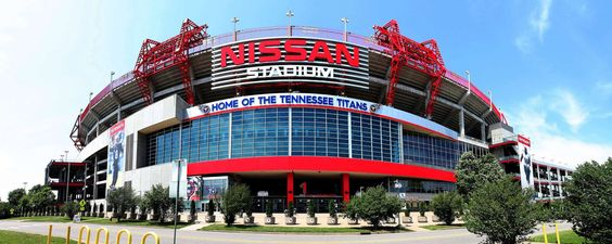 Nashville Designed by Populous in 1999, Nissan Stadium in Nashville, Tennessee, can pack in some 69,150 fans to cheer on the Tennessee Titans.