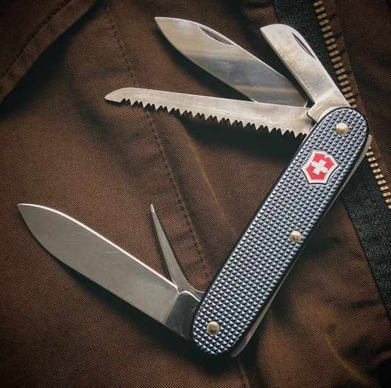 Always carry a pocketknife ..