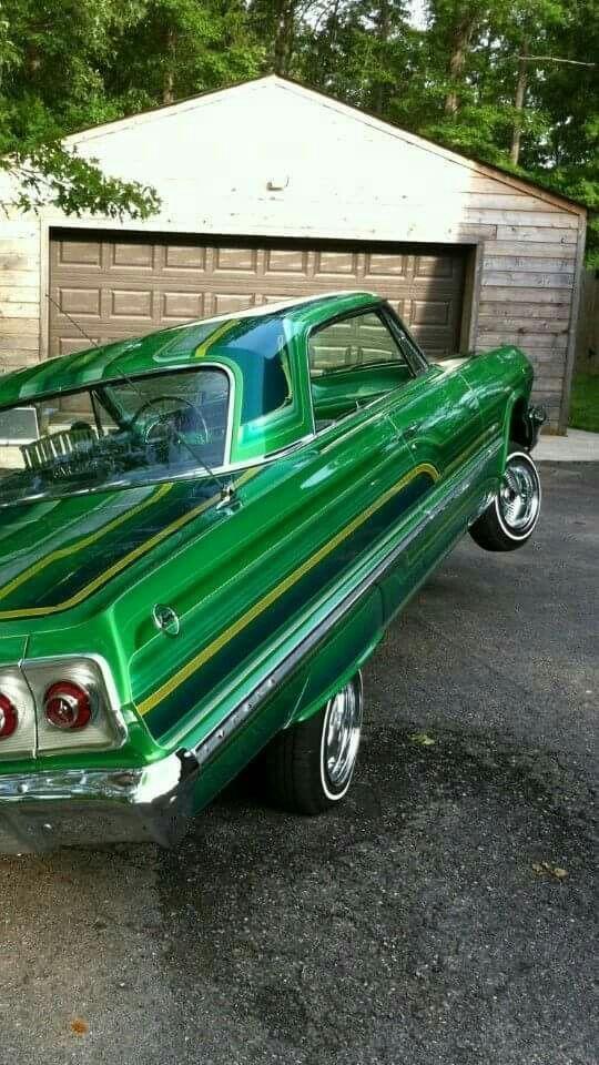63 Impala Lowrider Cars Classic Cars Lowriders
