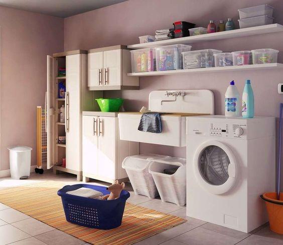 Lavanderia suggerimenti e idee questioni di arredamento for Suggerimenti per arredare casa