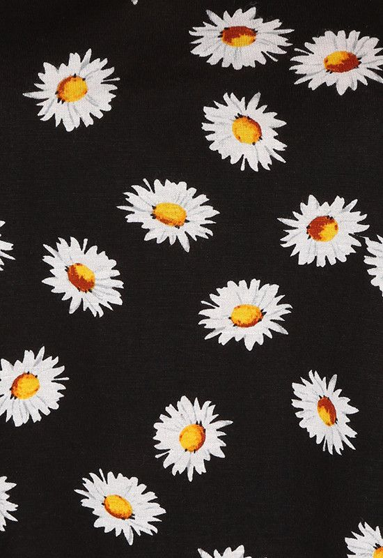 Daisy pattern wallpaper - photo#4