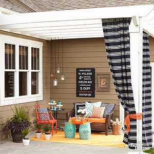 5 ways to make your small outdoor space look deceptively large outdoor spaces spaces and patios - Outdoor Small Patio Ideas