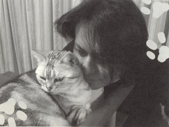 Acchan with his Cat