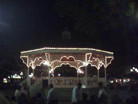Plaza de la Marimba, Tuxtla Gutiérrez, Chiapas. México