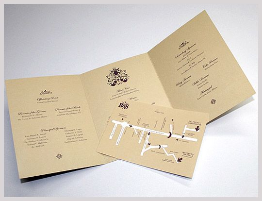 Referencias de estilo para o convite