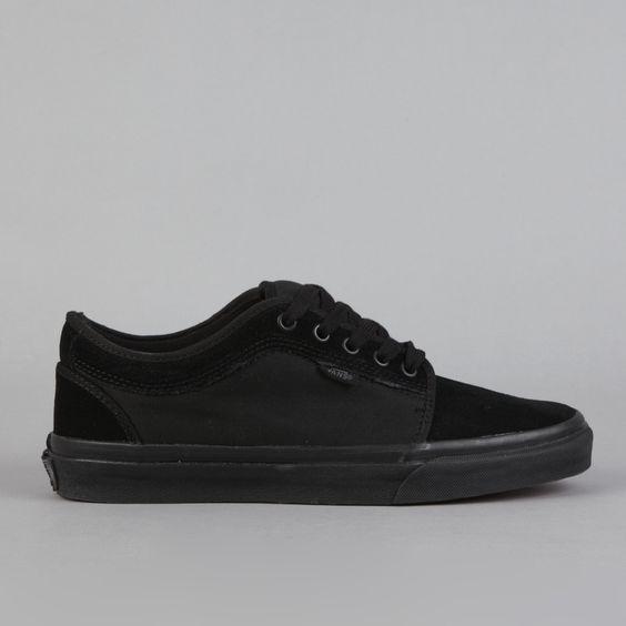 vans chukka low black/dark slate gray