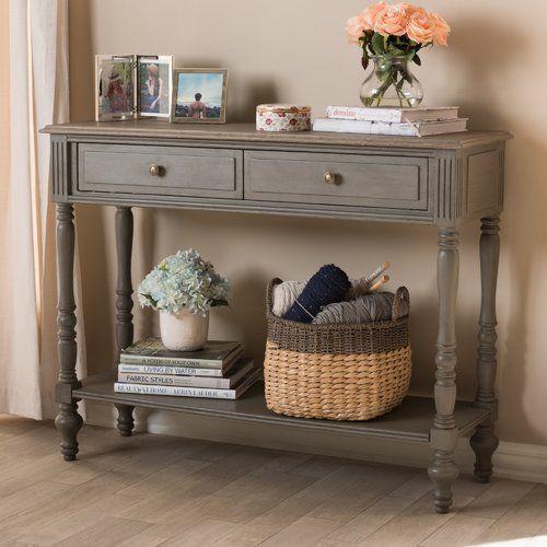 Baden Console Table Birch Lane Farmhouse Console Table Country Cottage Decor Country House Decor